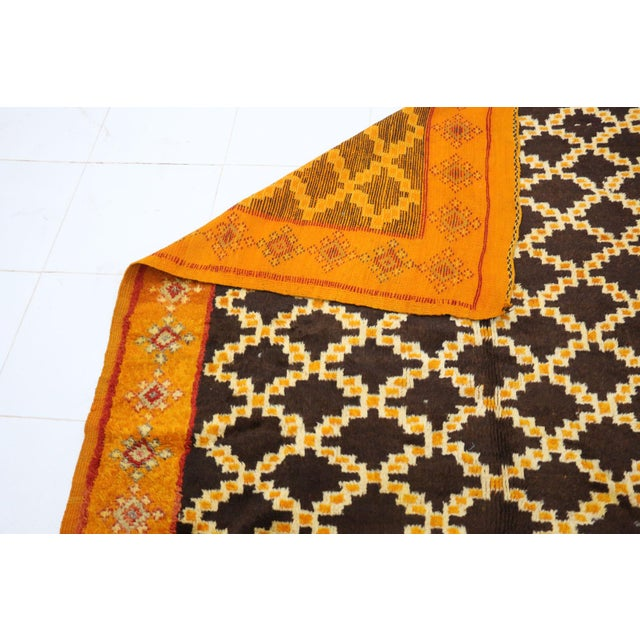"""Taznakht Moroccan Rug, 5'0"""" X 11'2"""" Feet For Sale - Image 4 of 6"""