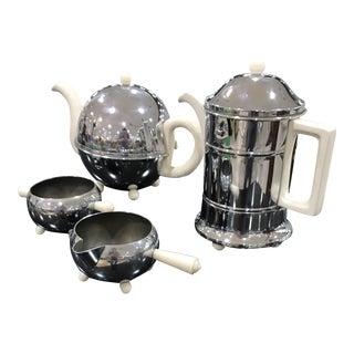 Perry Bevans & Co Deco Tea Set - Set of 4