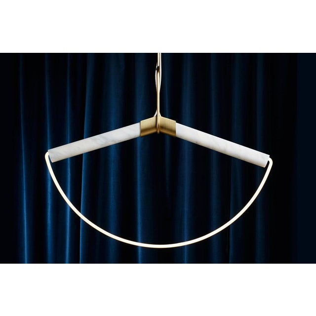 Metal Farrah Sit Ida Pendant Light For Sale - Image 7 of 7