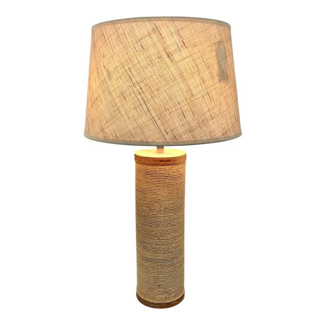 Gregory Van Pelt Corrugated Cardboard Lamp For Sale