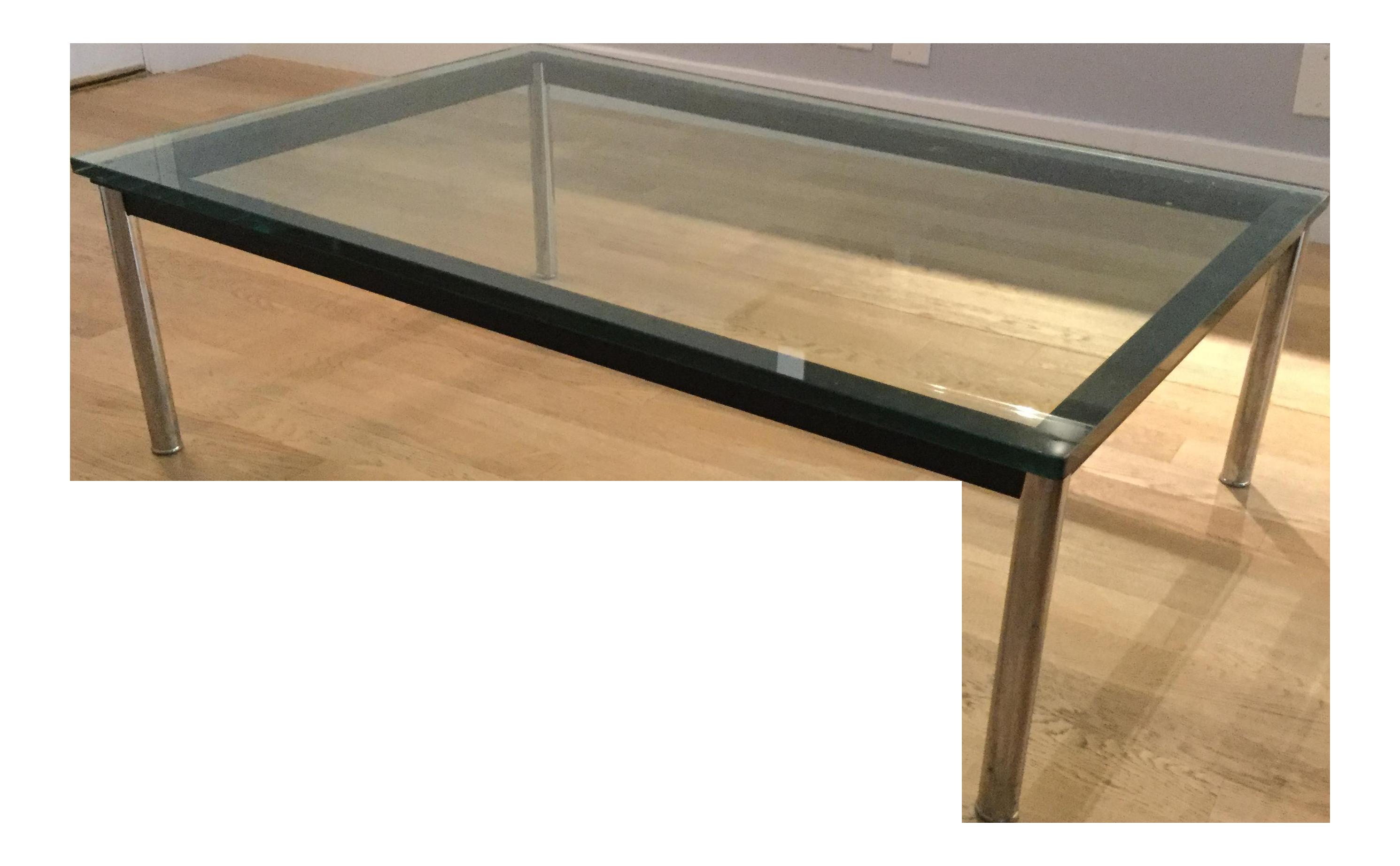 Le Corbusier Lc10 P Rectangular Coffee Table