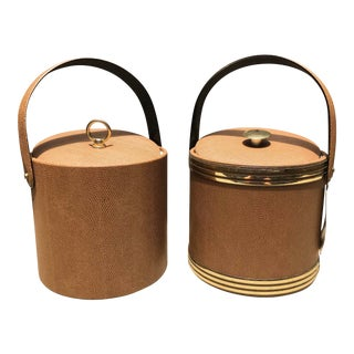 1960s Mid-Century Modern George Briard Ice Buckets - A Pair For Sale