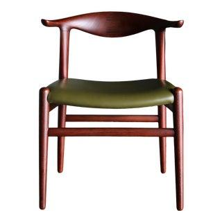 Hans Wegner Cow Horn Chair for Johannes Hansen Circa 1952 For Sale