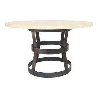 Industrial CFC Silkeborg Basket Dining Table For Sale