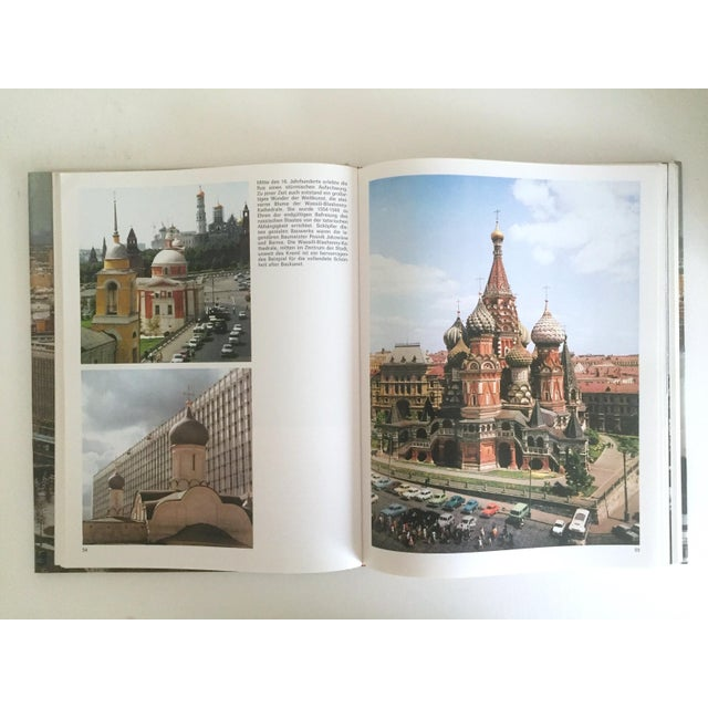 """"""" Moskau """" Vintage 1975 Photography Cultural Travel Large Art Book in German For Sale - Image 4 of 11"""