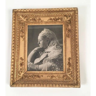 Late 19th Century Antique Portrait of Queen Victoria Framed Photograph Preview