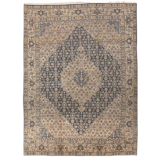 Antique Persian Tabriz Rug - 10′ × 13′ For Sale