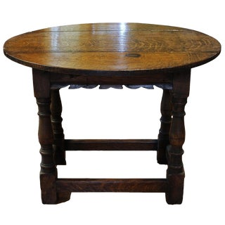 Miniature Drop Leaf Table For Sale