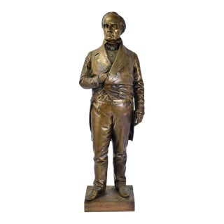 Daniel Webster Bronze Sculpture For Sale
