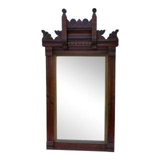Antique Victorian East Lake Mirror