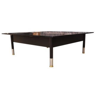 Mid-Century Modern Bently La Rosa for Brickel Associates Coffee Table For Sale