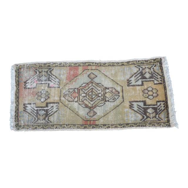 Antique Turkish Wool Rug 16 33 Chairish