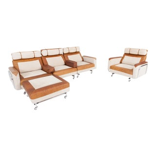 Space Age Modular Sofa in Original Upholstery For Sale