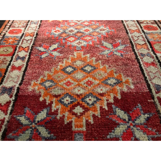 "Bellwether Rugs Vintage Turkish Oushak Runner - 2'9"" X 11'4"" - Image 9 of 11"
