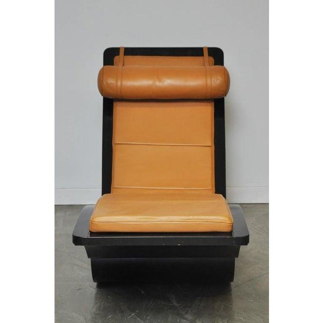 "Animal Skin Original ""Rio"" Rocking Chaise by Oscar Niemeyer For Sale - Image 7 of 7"