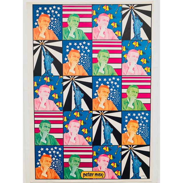 1960s Peter Max Iconic New York City Images Print For Sale - Image 5 of 10