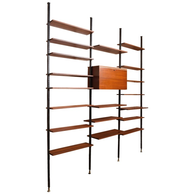 Danisch Modular Bookcase Royal System Wall Unit For Sale - Image 9 of 9