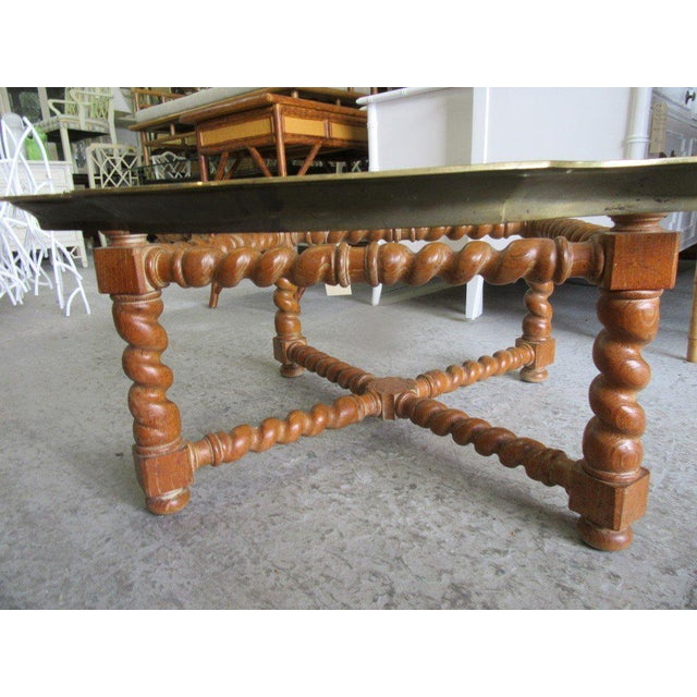 Baker Pie Crust Tray Top Coffee Table - Image 4 of 11