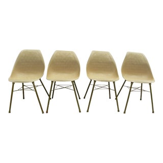 Vintage Set of 4 Plastic Potato Chip Chairs