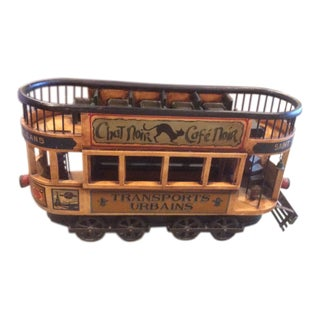 1950s Vintage French Trolley Model For Sale