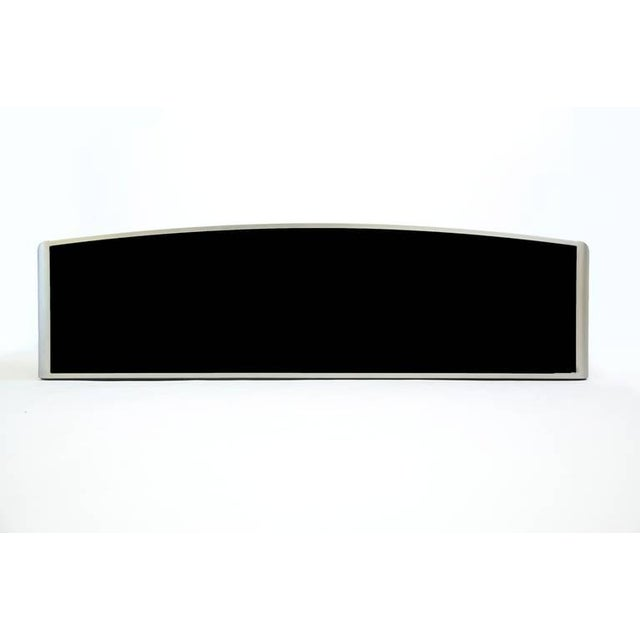 Glass Design Institute of America Painted Steel Buffet For Sale - Image 7 of 10