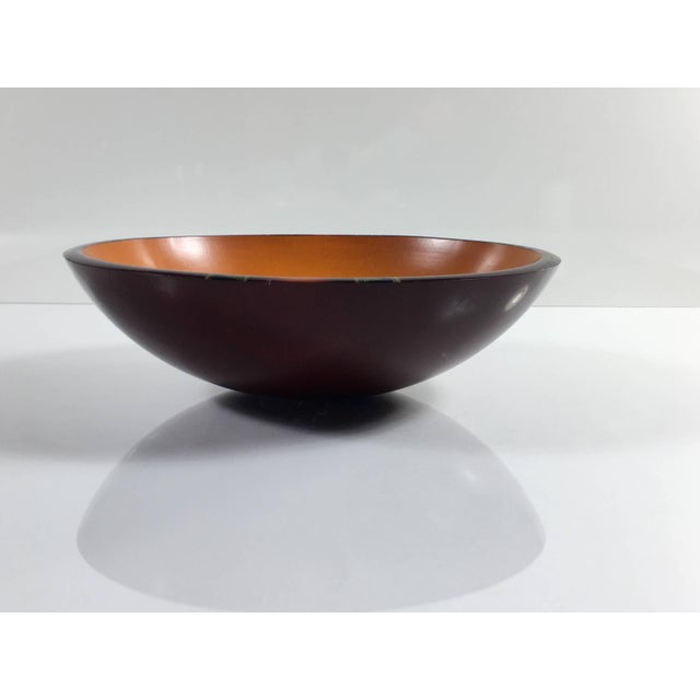 Mid-Century Modern Peggy Potter Wooden Bowl For Sale - Image 11 of 11