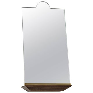 Early 21st Century Propped Daily Use Single Arch Mirror by Phaedo For Sale