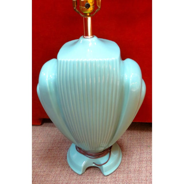 Hollywood Regency Mint Lamps - A Pair - Image 4 of 10