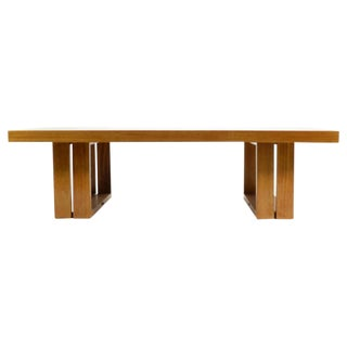 Van Keppel Green Camel Table by Brown Saltman For Sale