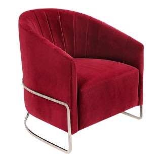 Modern Internu Red Chair For Sale