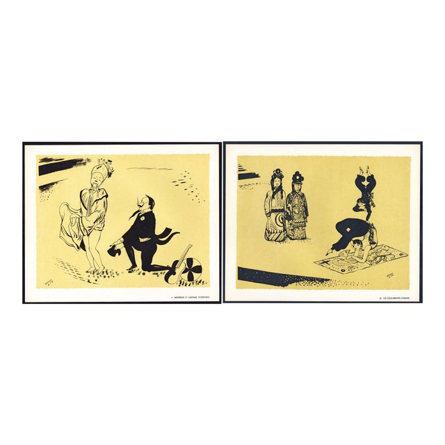 1944 Lithographs - Circus: # 4 & 22 - A Pair For Sale