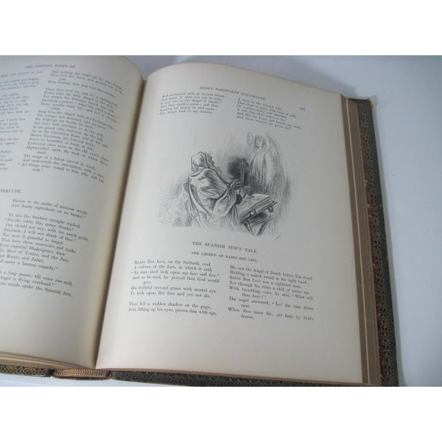 The Poetical Works of Henry Wadsworth Longfellow Illustrated For Sale - Image 11 of 13
