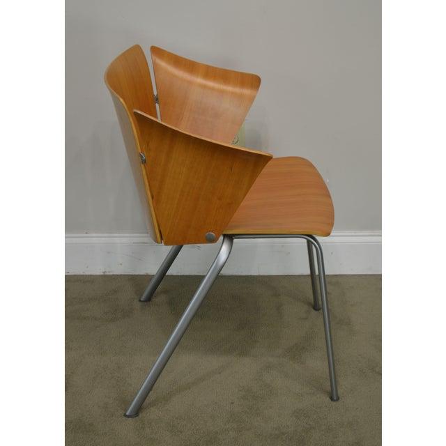 Vico Magistretti Vico Magistretti for Fritz Hansen Danish Modern Armchair For Sale - Image 4 of 13
