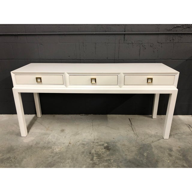 Somerset Bay Console Table For Sale - Image 13 of 13