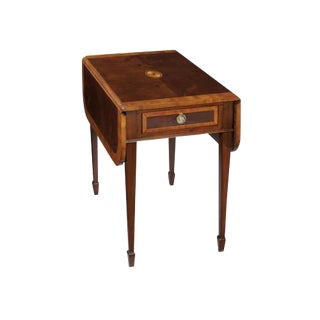 Hekman Drop Leaf Side Table For Sale