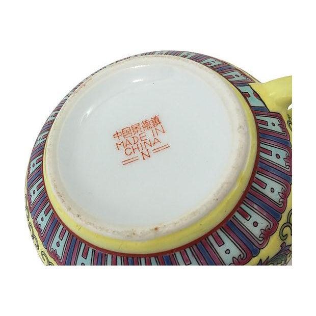 Ceramic Jaune Porcelain Sugar & Creamer For Sale - Image 7 of 7