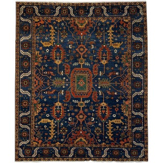 "Ziegler Hand Knotted Area Rug - 8' 5"" x 9' 10"""