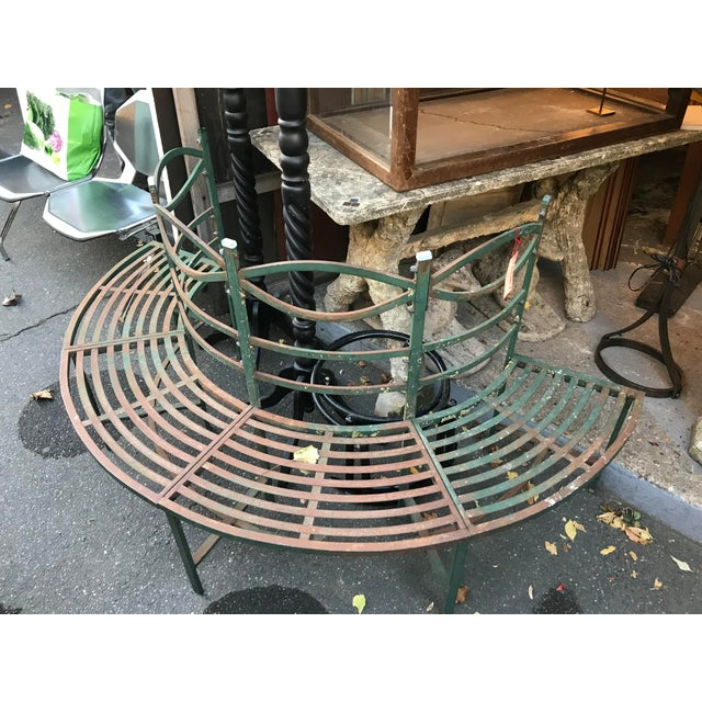 Round French Tuileries Bench - Image 7 of 8