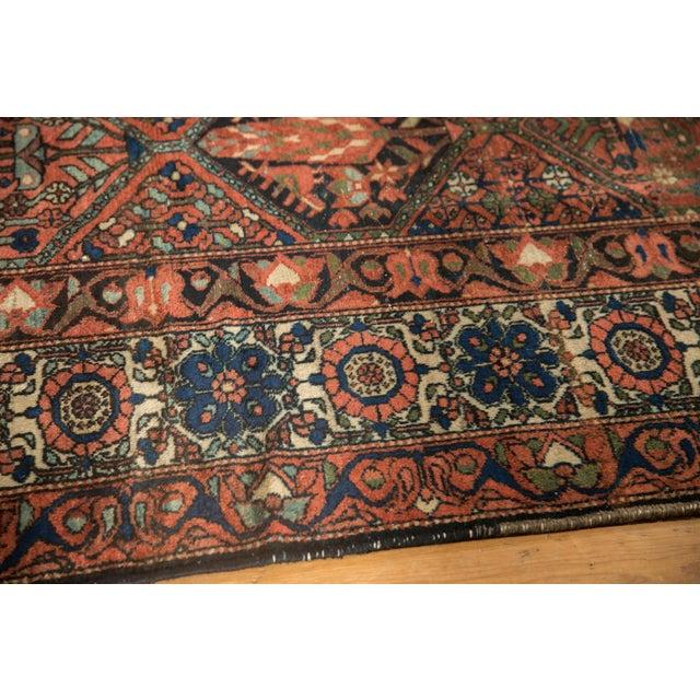 """Cotton Vintage Baktiari Carpet - 7'1"""" X 9'11"""" For Sale - Image 7 of 12"""