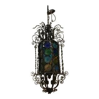 Spanish Revival Lantern For Sale