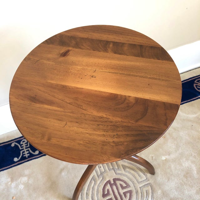 American Pennsylvania House Shaker Style Candle Stand Side Table For Sale - Image 3 of 7