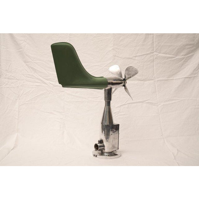 Mid-Century Modern Ship's Aerovane and Anemometer For Sale - Image 4 of 7
