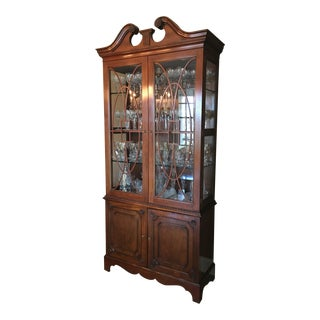 1990s Baker, Knapp, and Tubbs China Cabinet For Sale