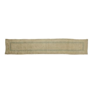 Antique French Savonnerie Runner - 02'01 X 10'11 For Sale