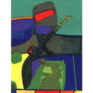 1972 XX Siecle Maurice Esteve Aristovert Lithograph For Sale