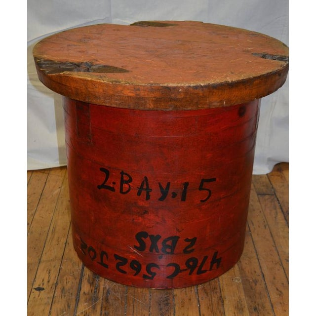 Industrial Industrial End Table For Sale - Image 3 of 10