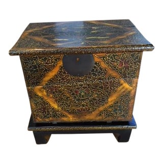 19th Century Antique Tibet Chest For Sale
