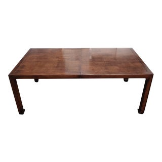 Henredon Asian MidcenturyStyle Dining Table For Sale