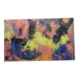 Modern Art Painting by Monaco Artist Patou For Sale