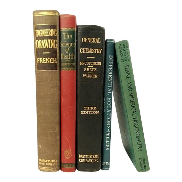 Vintage Technical & Scientific Book Collection - Set of 5 - Image 1 of 4